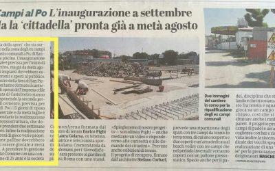 Su La Provincia di Cremona per campi da tennis riqualificati
