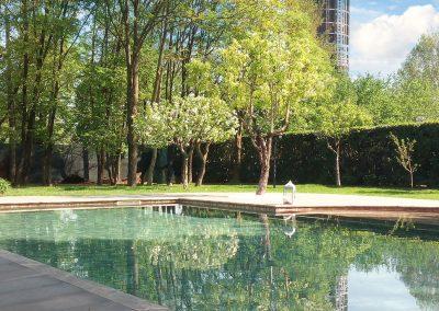 Nuova costruzione di piscina interrata