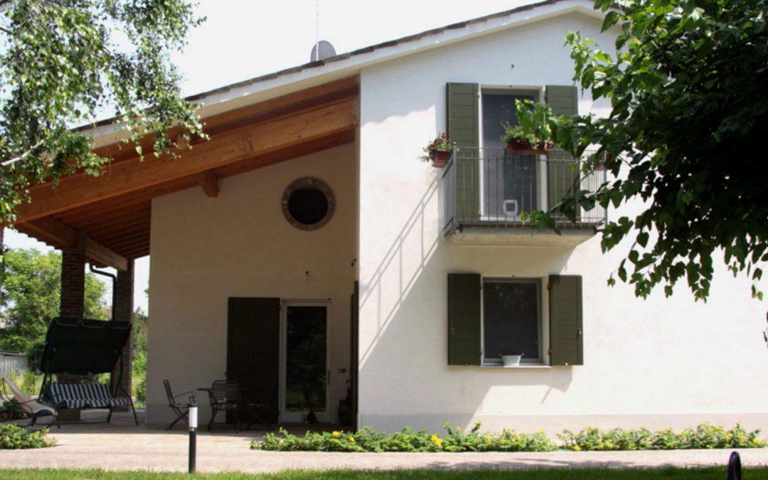 Nuova costruzione di edificio residenziale unifamiliare