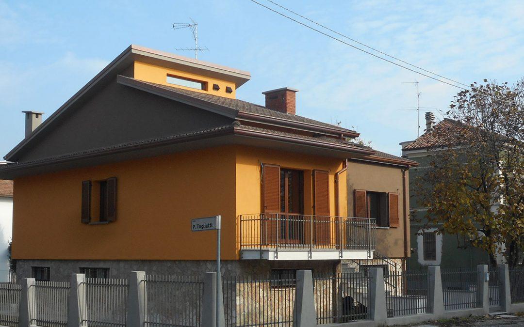 Ristrutturazione edilizia di edificio residenziale